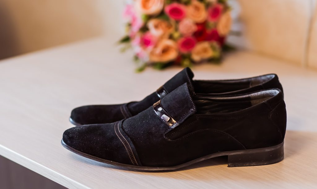 Shoes for deceased
