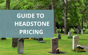 How much is a headstone