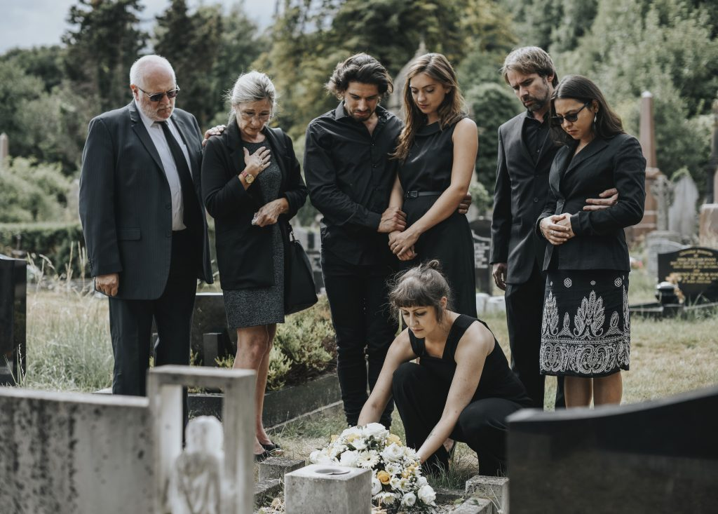 dress code for interment of ashes