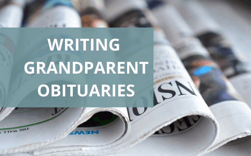 obituary for grandmother