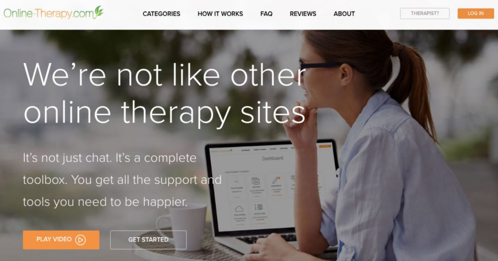 online therapy website