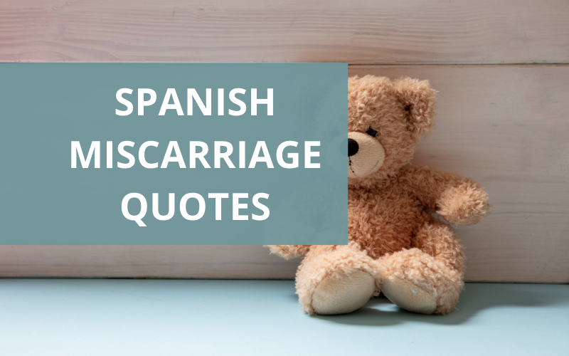 pregnancy loss quotes in spanish