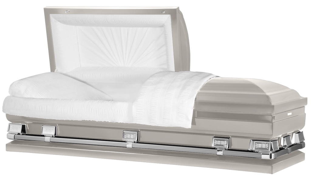 What is the size of an oversized casket?