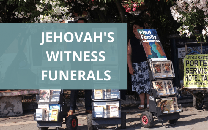 Jehovahs Witness funeral