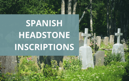 epitaph examples in spanish